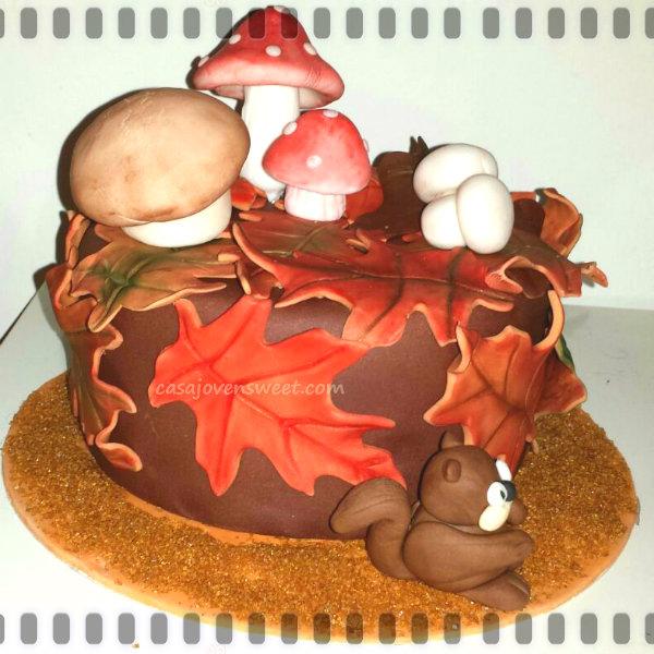 Comienza el oto o con los cursos tartas fondant madrid for Setas decoracion