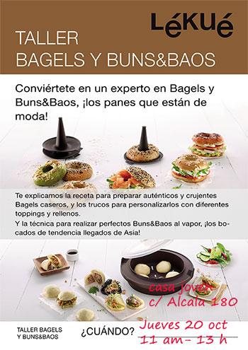 Taller Bagels y Buns&Baos