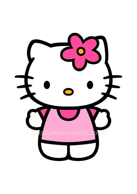 Papel de azucar - Disney - Hello Kitty