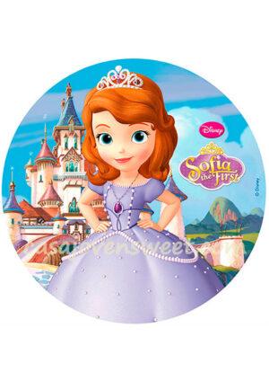 Papel de azucar - Disney - Princesa Sofía