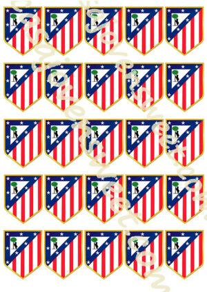 Papel de azucar - Atlético de Madrid 2