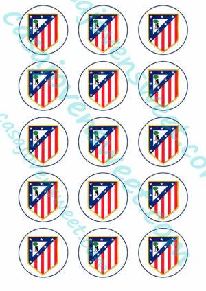 Papel de azucar - Atlético de Madrid Círculos