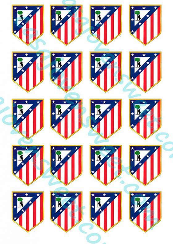 Papel de azucar - Atlético de Madrid
