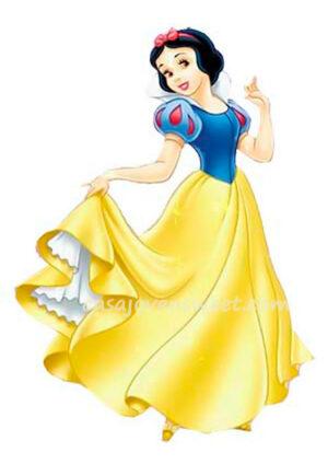 Papel de azucar - Disney - Blancanieves