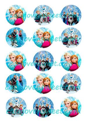 Papel de azucar - Frozen 7