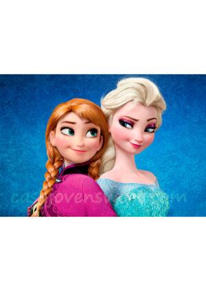 Papel de azucar - Frozen 8
