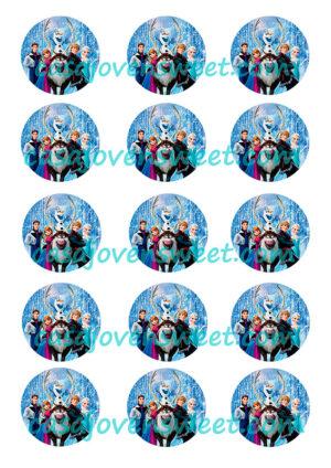 Papel de azucar - Frozen 3
