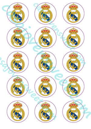 Papel de azucar - Real Madrid