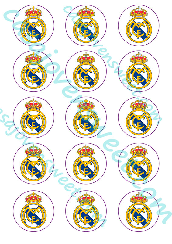 Papel de azucar – Real Madrid