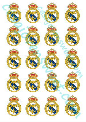 Papel de azucar - Real Madrid 2