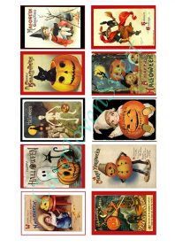Papel de azucar - Halloween - Vintage