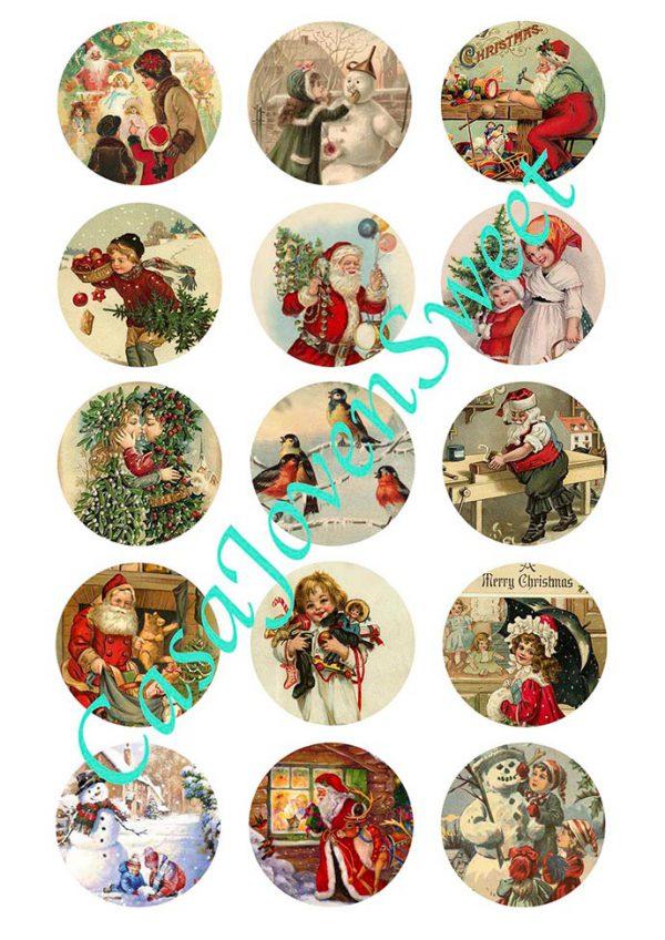 Papel de azucar - Navidad - Clasico 4
