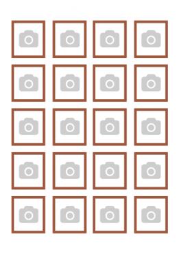 Tu propia imagen en Papel de Azúcar - Tu imagen x20 en un Din A4