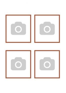 Tu propia imagen en Papel de Azúcar – Tu imagen x4 con borde
