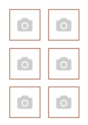 Tu propia imagen en Papel de Azúcar – Tu imagen x6 en un Din A4