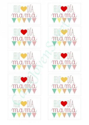 Papel de azucar - Día de la madre 10