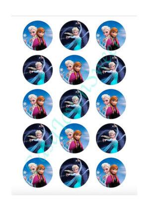 Papel de azucar - Frozen 10