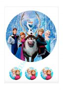 Papel de azucar - Frozen 11