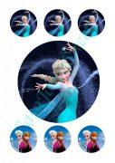Papel de azucar - Frozen 9