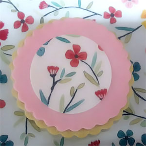 galletas decoradas con papel azucar