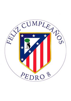 Papel comestible Diseños Mixtos Atletico de Madrid