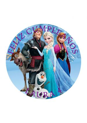 Papel comestible Diseños Mixtos Frozen 10