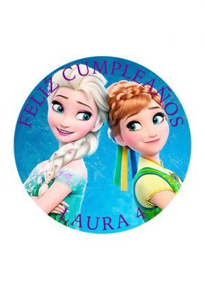 Papel comestible Diseños Mixtos Frozen 12