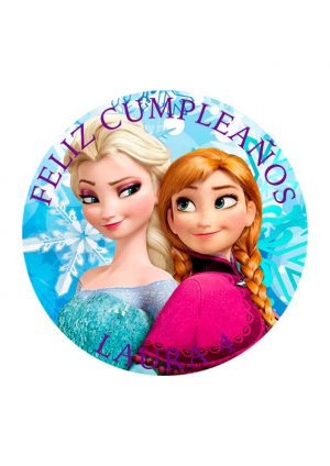 Papel comestible Diseños Mixtos Frozen2
