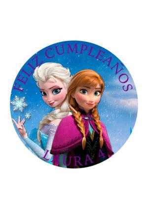 Papel comestible Diseños Mixtos Frozen 3