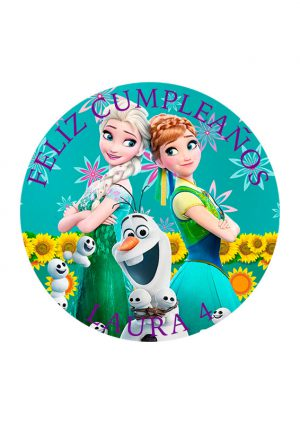 Papel comestible Diseños Mixtos Frozen 5