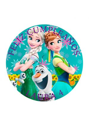 Papel comestible Diseños Mixtos Frozen 6