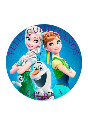 Papel comestible Diseños Mixtos Frozen