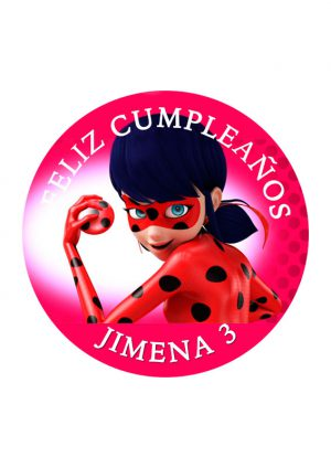 Papel comestible Diseños Mixtos Lady bug 19