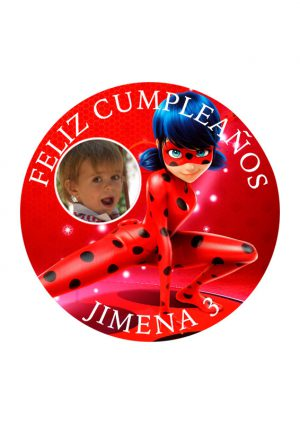 Papel comestible Diseños Mixtos Lady bug 21