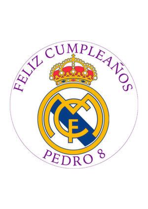 Papel comestible Diseños Mixtos Real Madrid