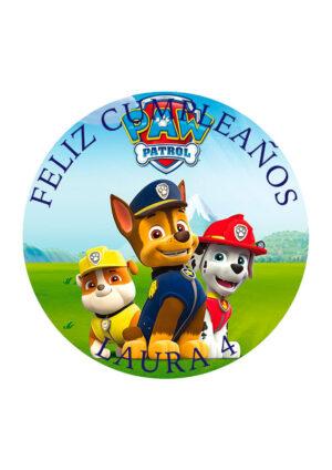 Papel comestible Diseños Mixtos patrulla canina 2