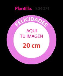 Papel de Azucar Plantilla 304071