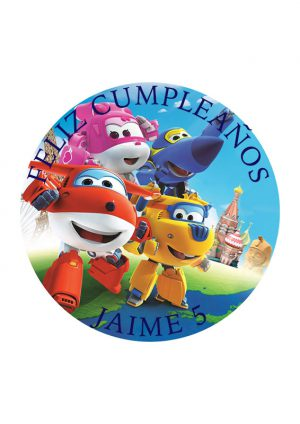 Papel comestible Diseños Mixtos superwings