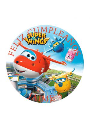 Papel comestible Diseños Mixtos super wings