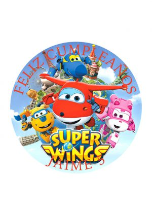 Papel comestible Diseños Mixtos superwings 5